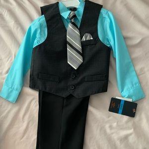 Toddler boy suit set